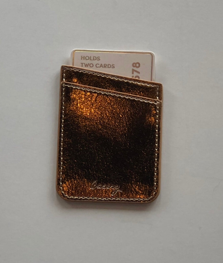 THE CASERY Rose Gold PHONE POCKET