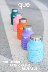 QUE Collapsible 20 oz. Water Bottle