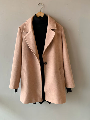 IMAGINE Long Lapel Duster Jacket