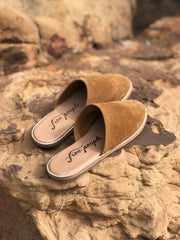 FREE PEOPLE Slip On CORONADA Flat Mule Shoes