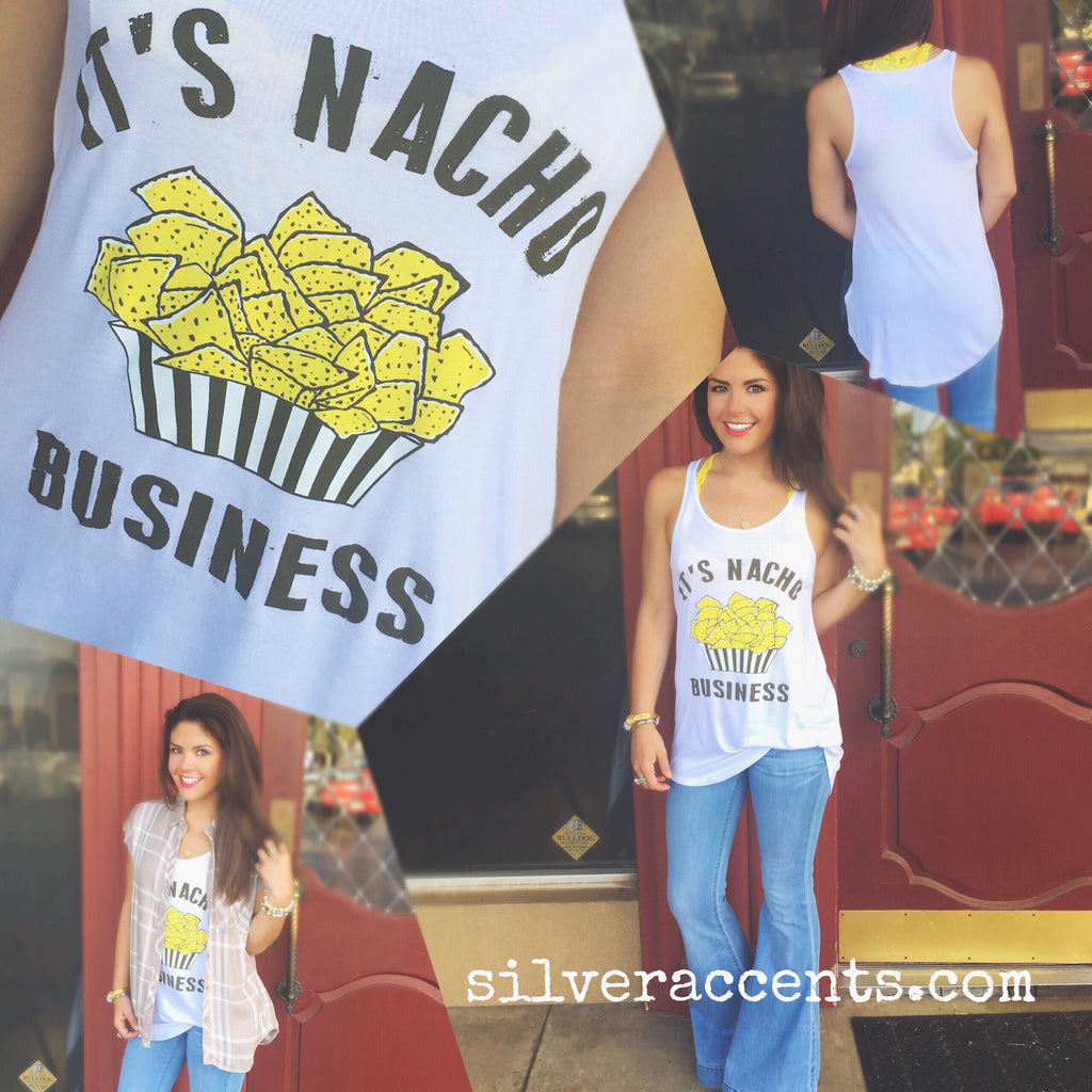 ITS NACHO BUSINESS ScoopHem Graphic Tank Top