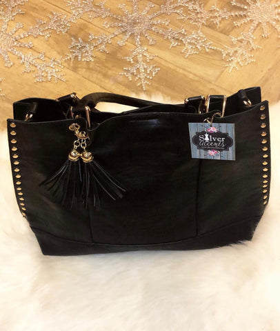 STELLAR Studded Tote Bag