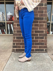 UPTOWN 5 Pocket Color Skinny Jeans
