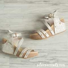 Very Volatile OXLEY Strappy Wedge Shoe