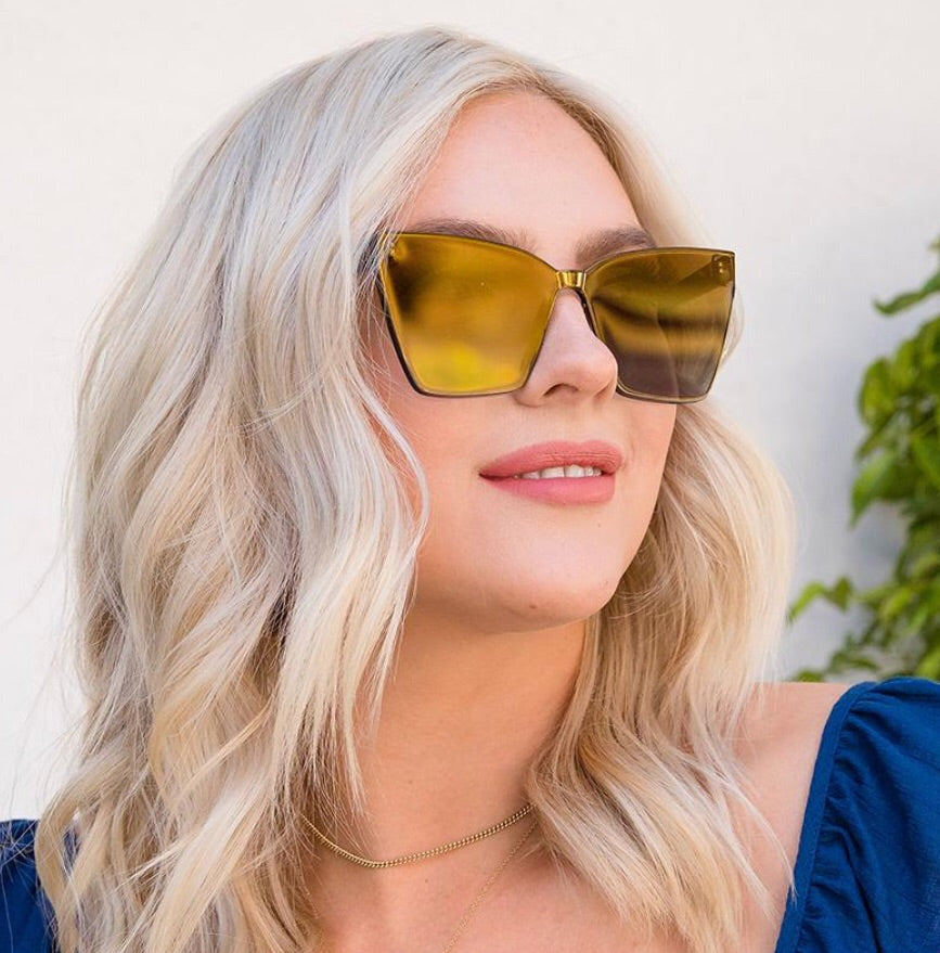 11223c5769215 DIFF GOLDIE Sunglasses – Silver Accents