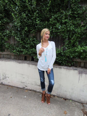 BOBI LongSleeve PERFECT Boyfriend Pocket Tee
