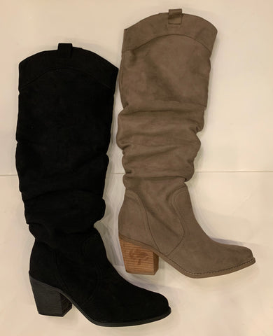 NOT RATED Slouchy ELSIA Knee High Boot