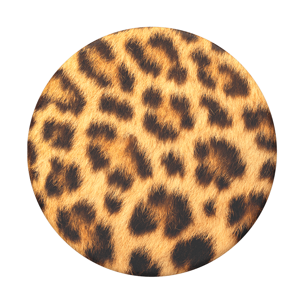 Cheetah Chic POPSOCKET Swappable Top