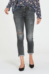 DEAR JOHN HiRise AIDEN Distressed Jean