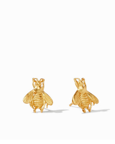 JULIE VOS Gold BEE Stud Earring