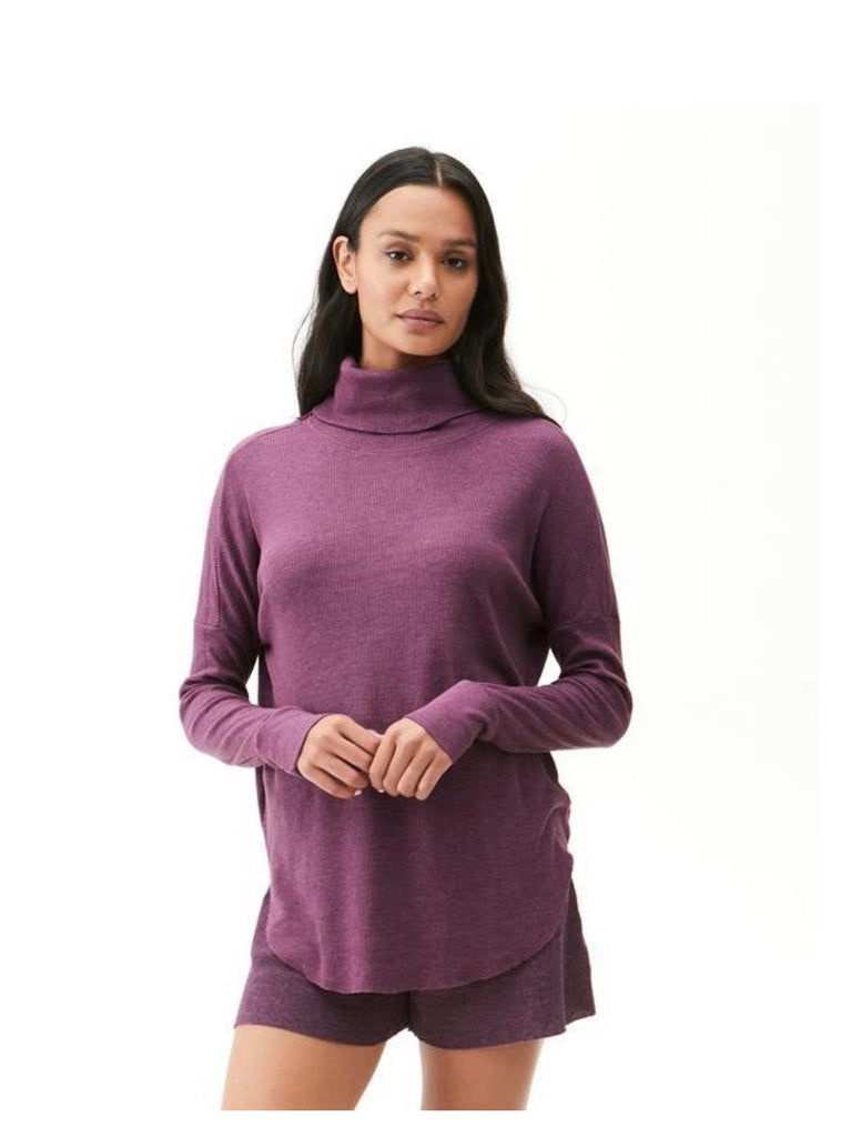 MICHAEL STARS Thermal MARCY CowlNeck Tunic