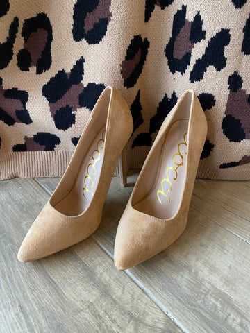 PRIMP Suede Pump Heel Shoe