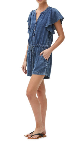 MICHAEL STARS Denim MATTIE Romper
