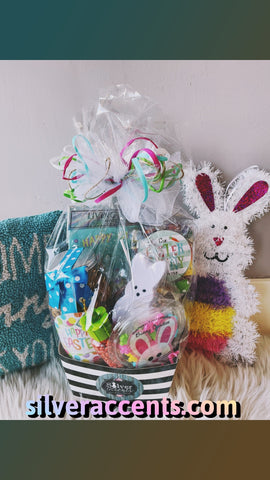 $59 EASTER BUNNY Assortment Basket