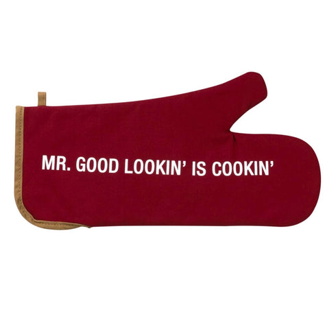 AF MR GOOD LOOKIN' IS COOKIN' Grill Mitt