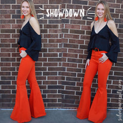 SHOWDOWN GameDay SuperFlare Colored Denim Jeans