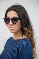 QUAY AUSTRALIA KITTI Black/Smoke Sunglasses