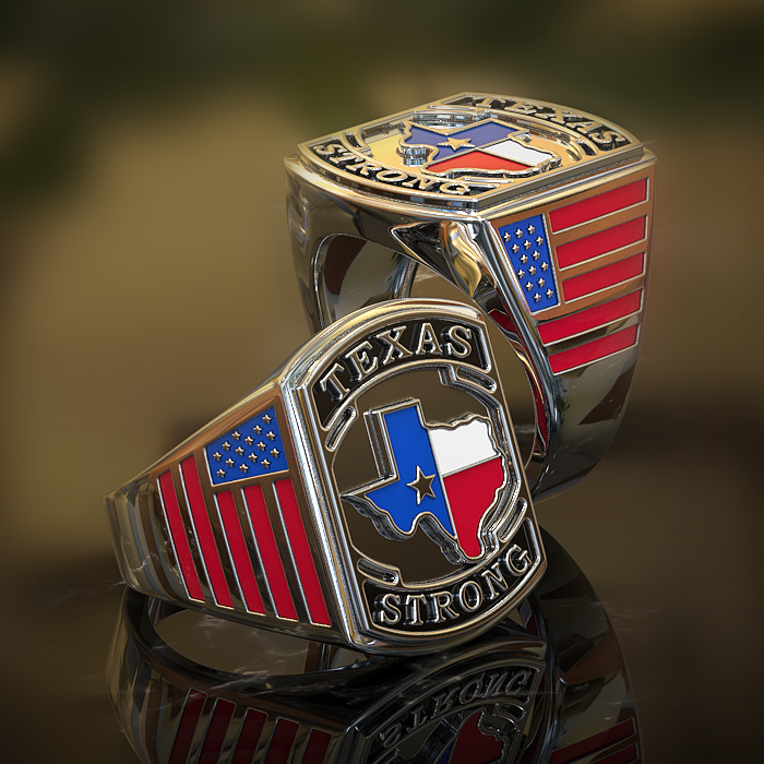 Limited Edition Texas Strong Collector Ring