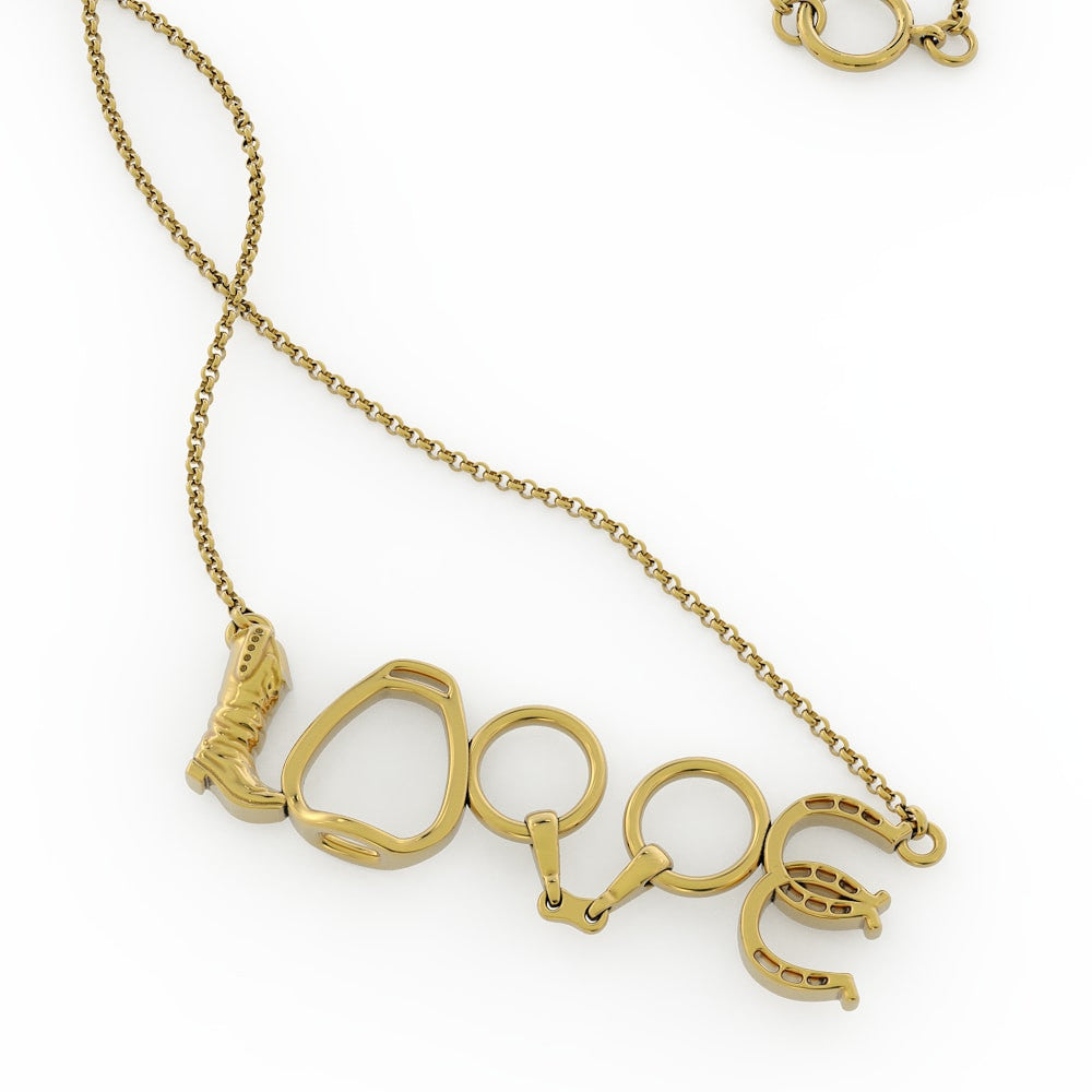 Riding Love Pendant