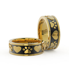 Yorkie Mom Ring