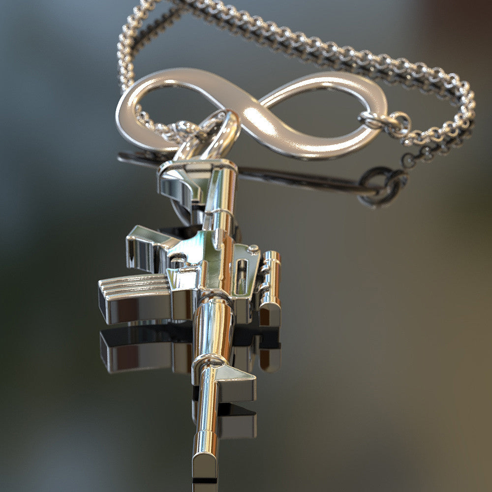 Infinity AR15 Necklace