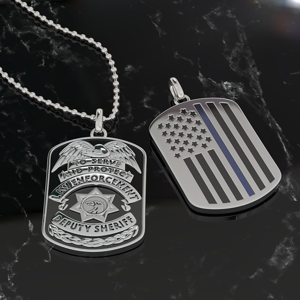 Sheriff Dog Tag