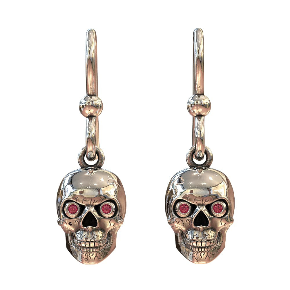 GR Skull Earrings
