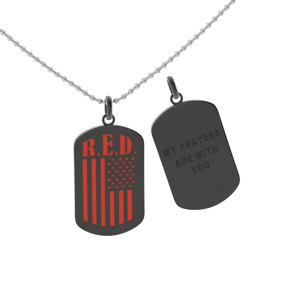 My Prayers Are With You dogtag