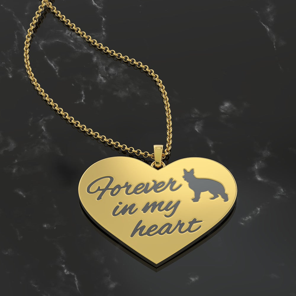 Forever In My Heart - German Shepherd Dog