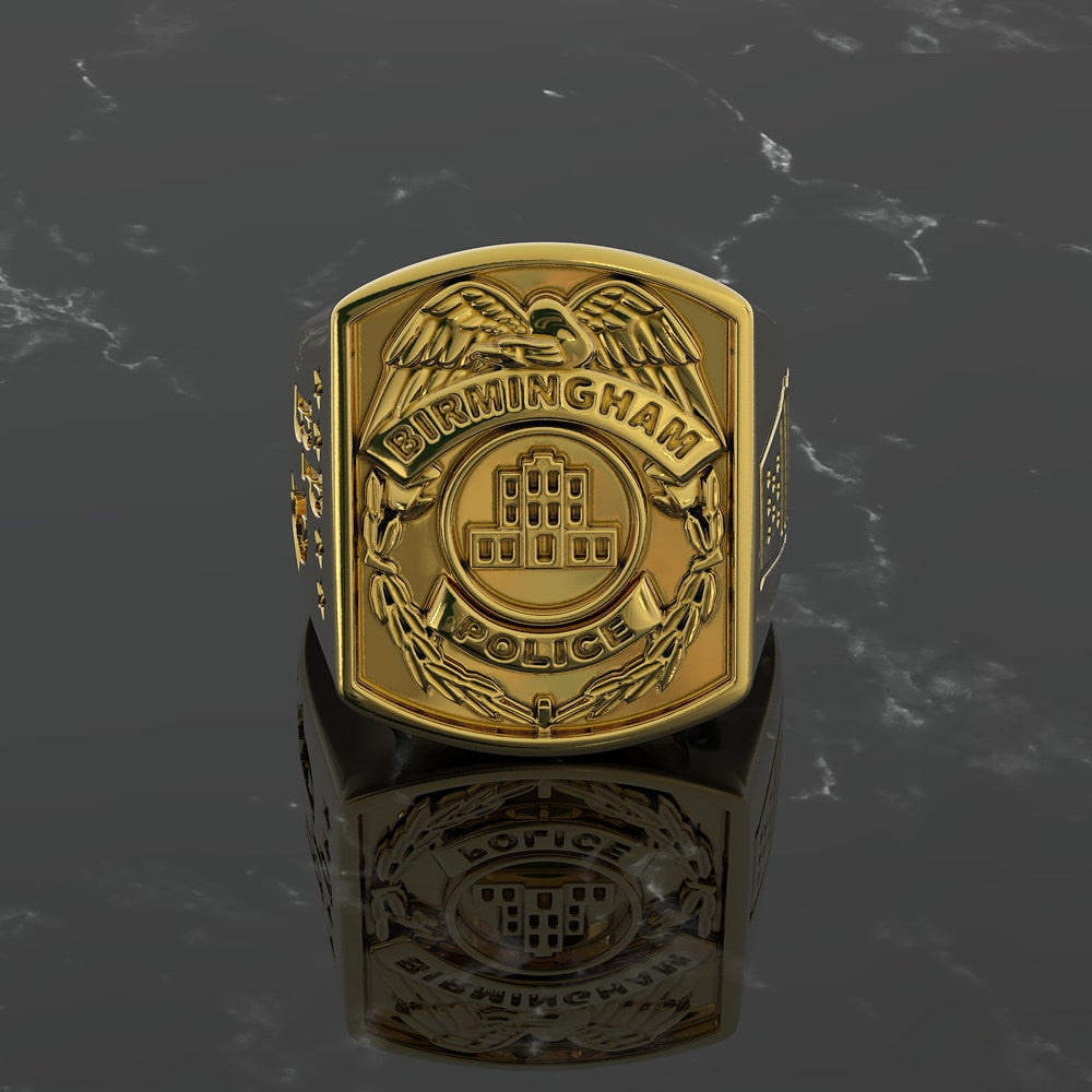 Birmingham Custom Retired Police Ring