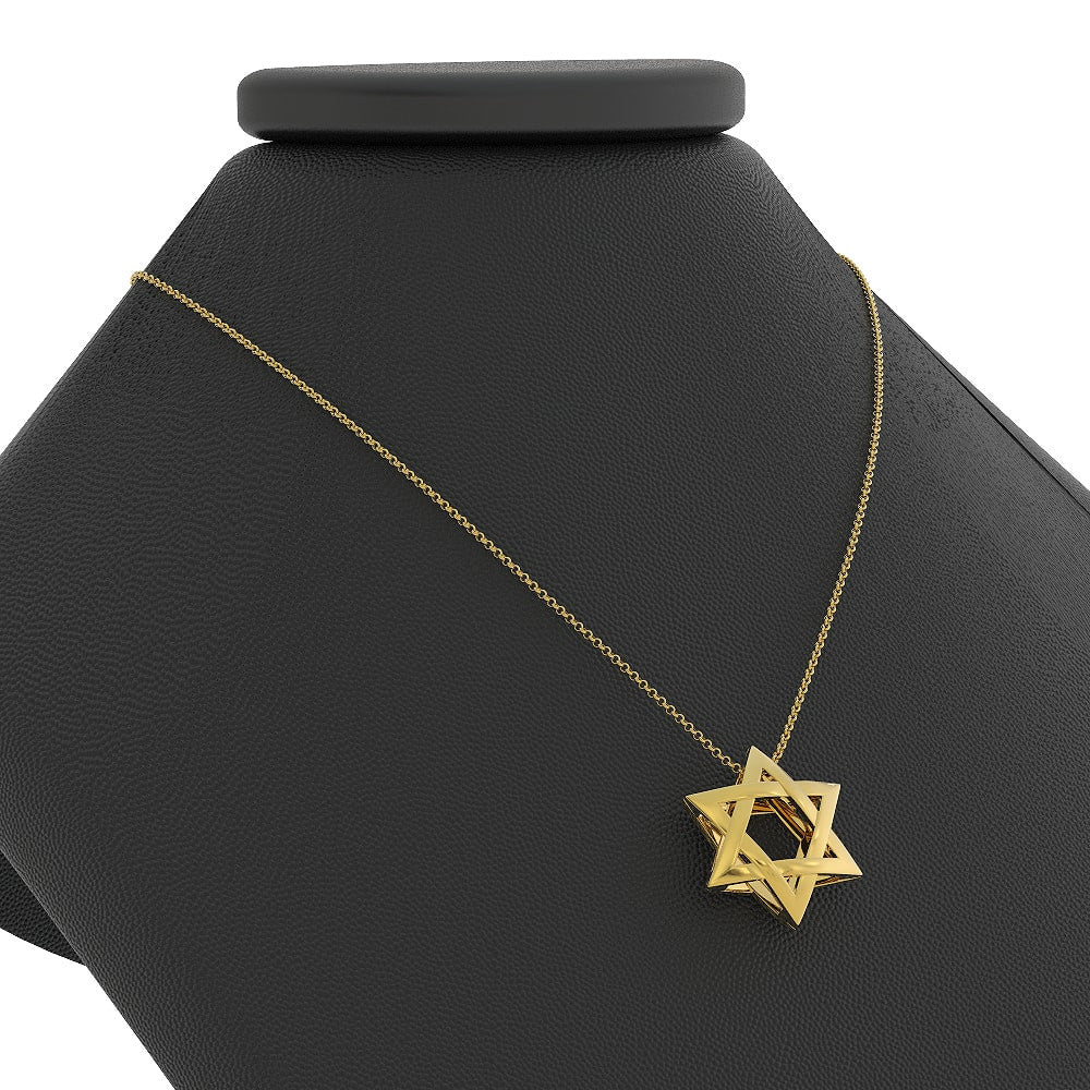 Exquisite 3D Star of David