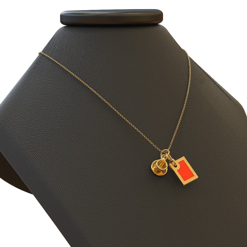 Tea necklace