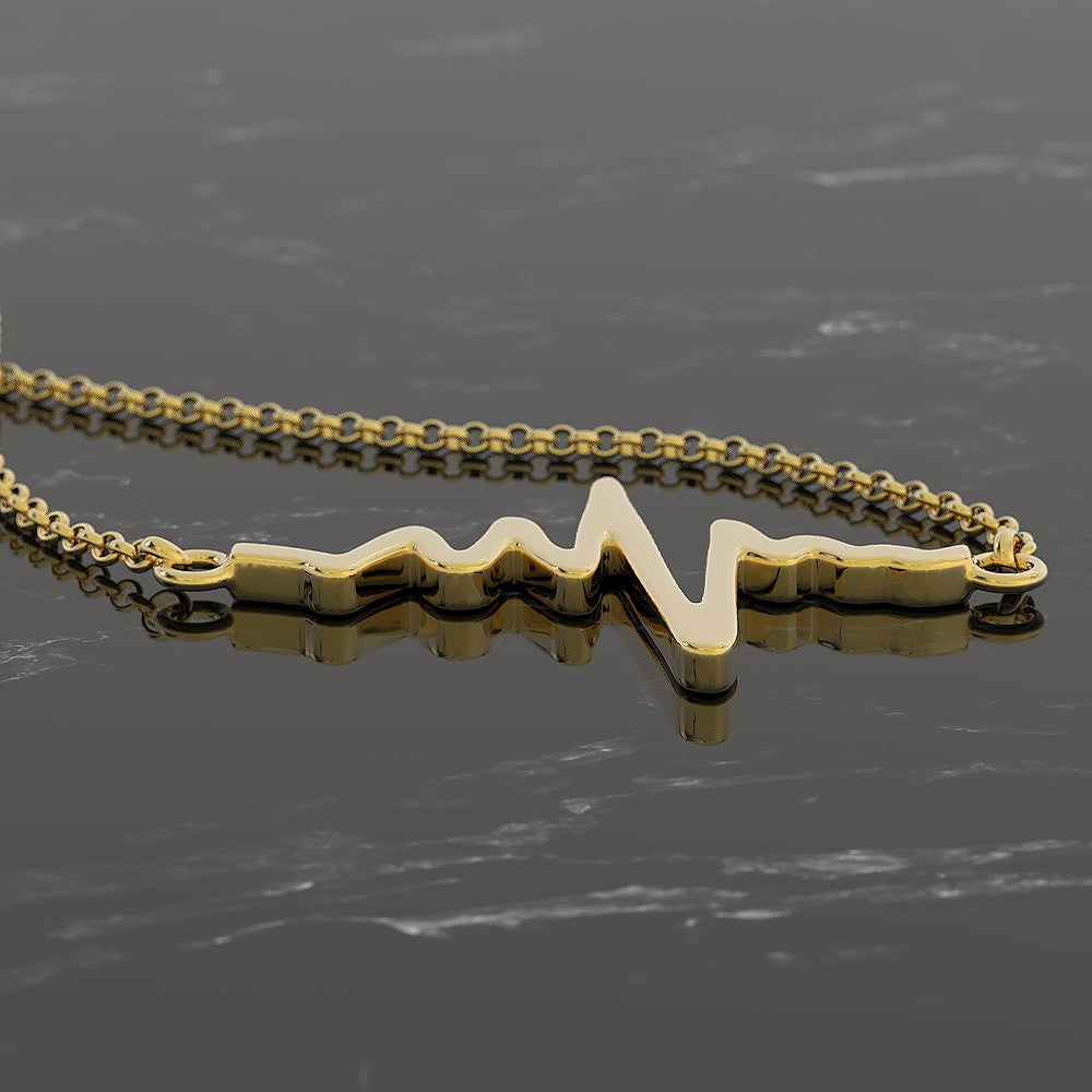 Nurse Necklace - Heartbeat
