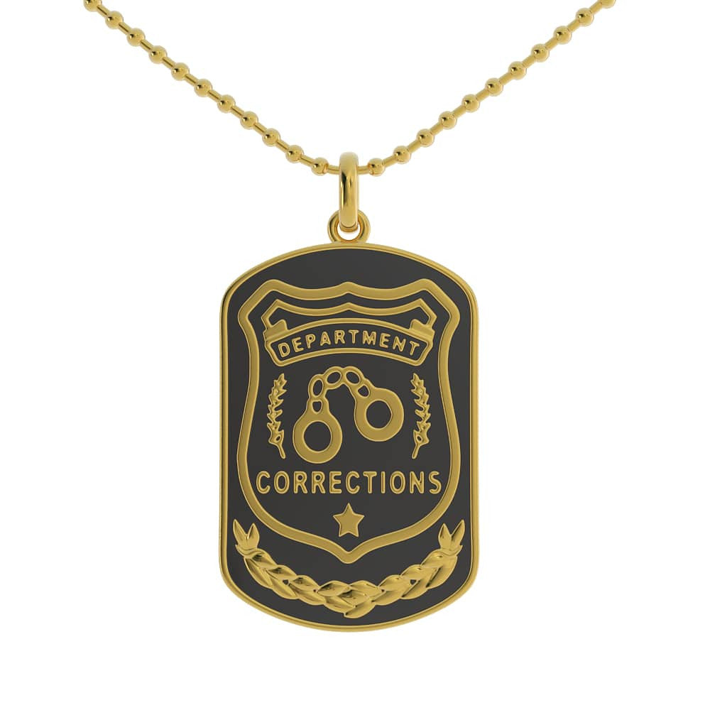 Corrections Dog Tag