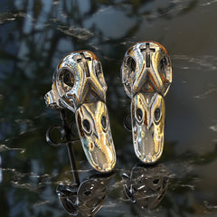 Duck skull Earrings