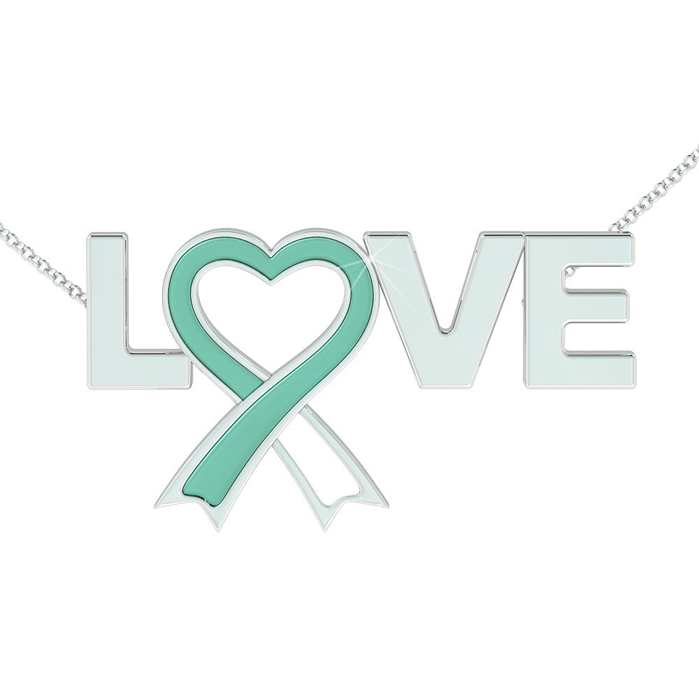 Cervical Cancer Awareness (.925 silver)