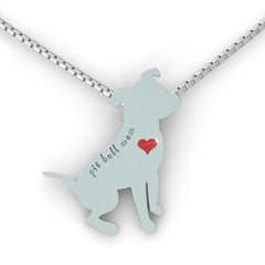 Pit Bull Mom Necklace