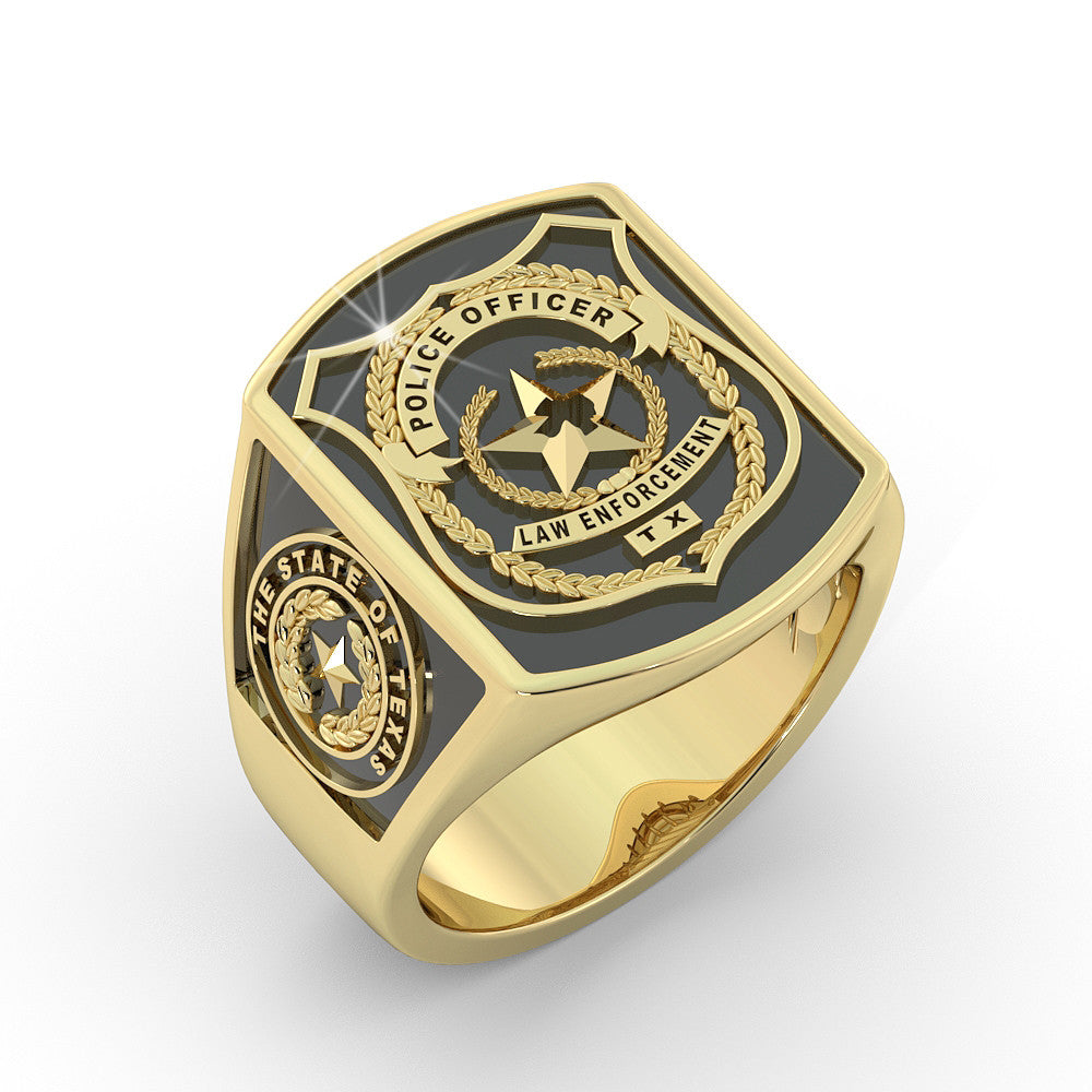 Texas Police Officer Ring - Limited Edition