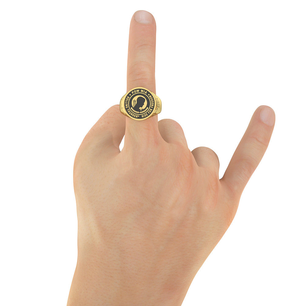 Rolling Thunder Ring - Officially Licensed.