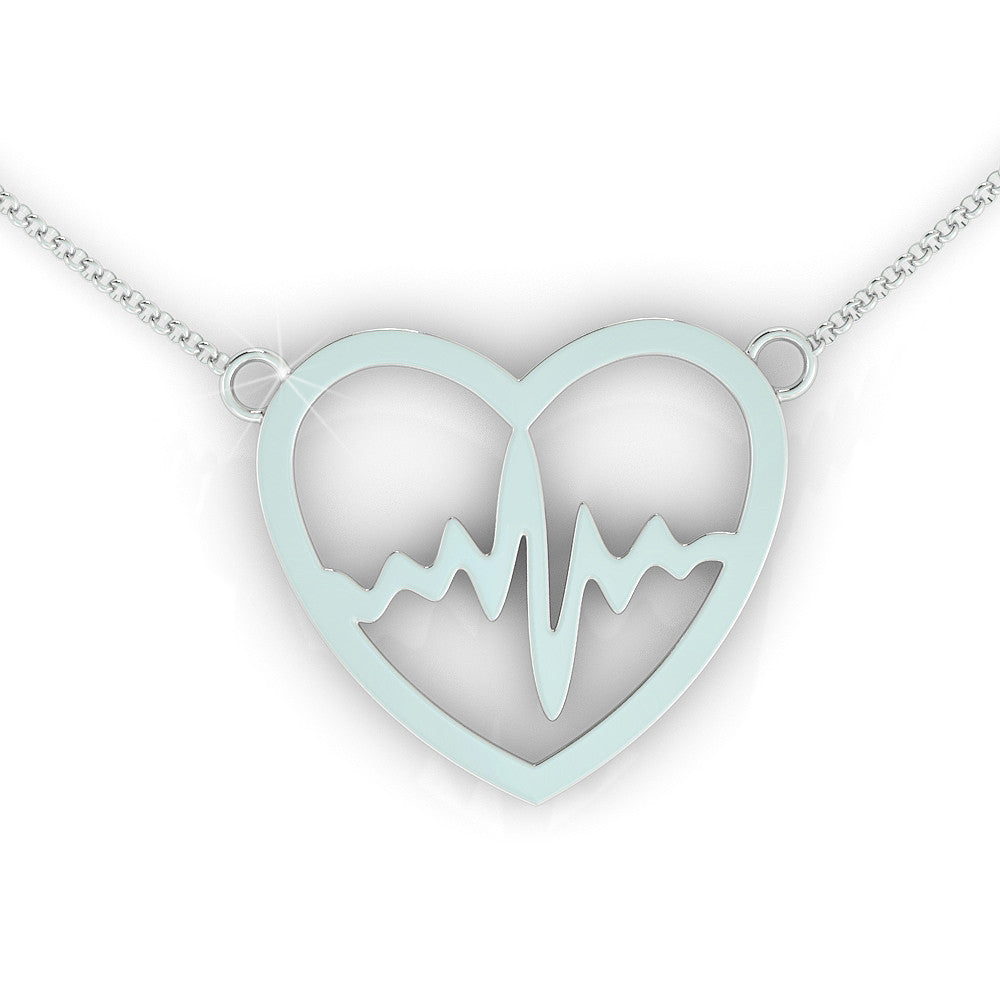 Nurse Heartbeat Necklace