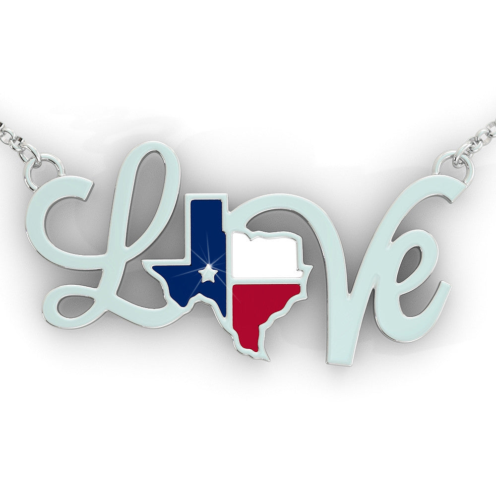 Texas Love Pendant