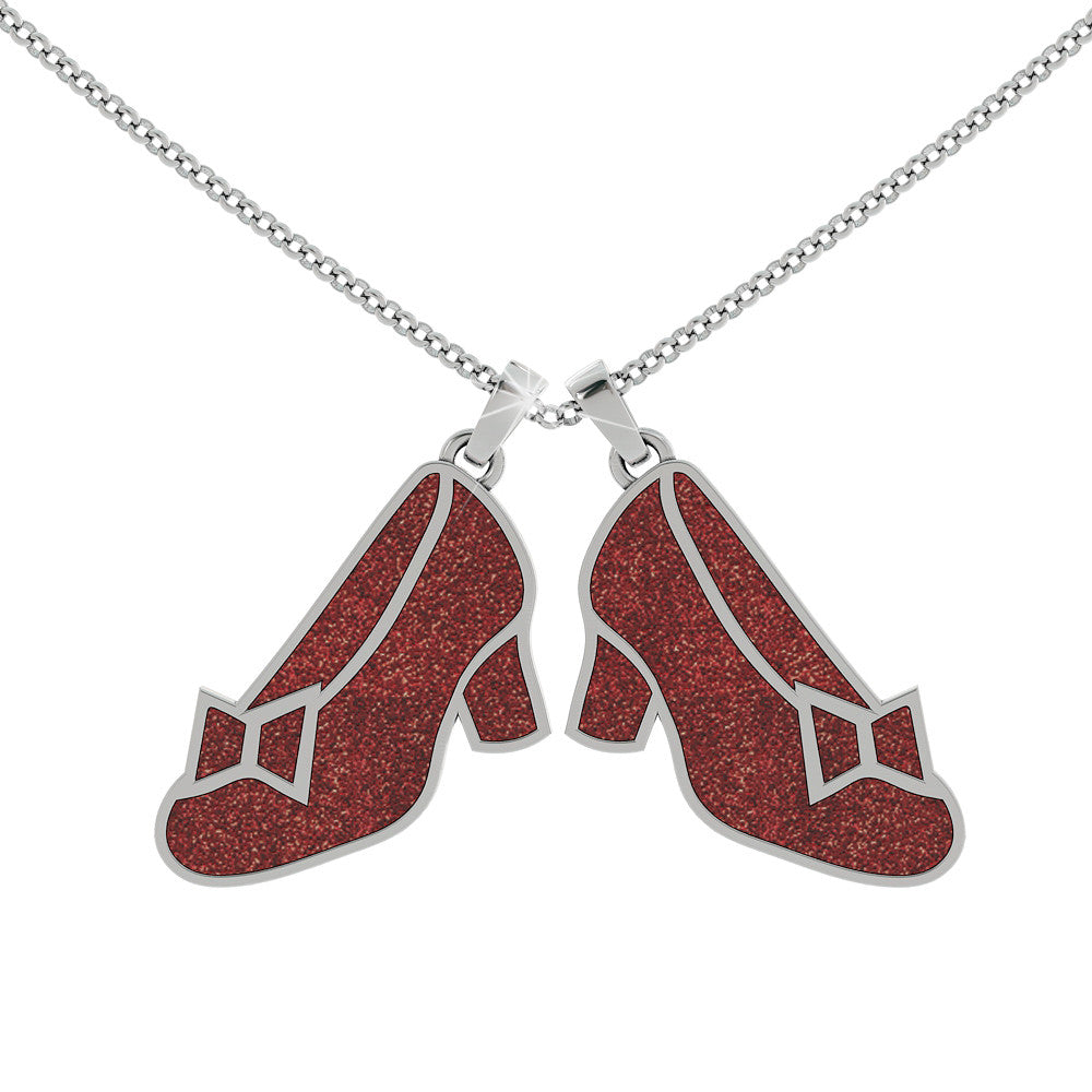Ruby Slippers Pendant