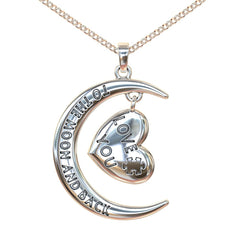 Love You To the Moon and Back Autism Necklace