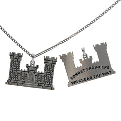 Combat Engineers Pendant