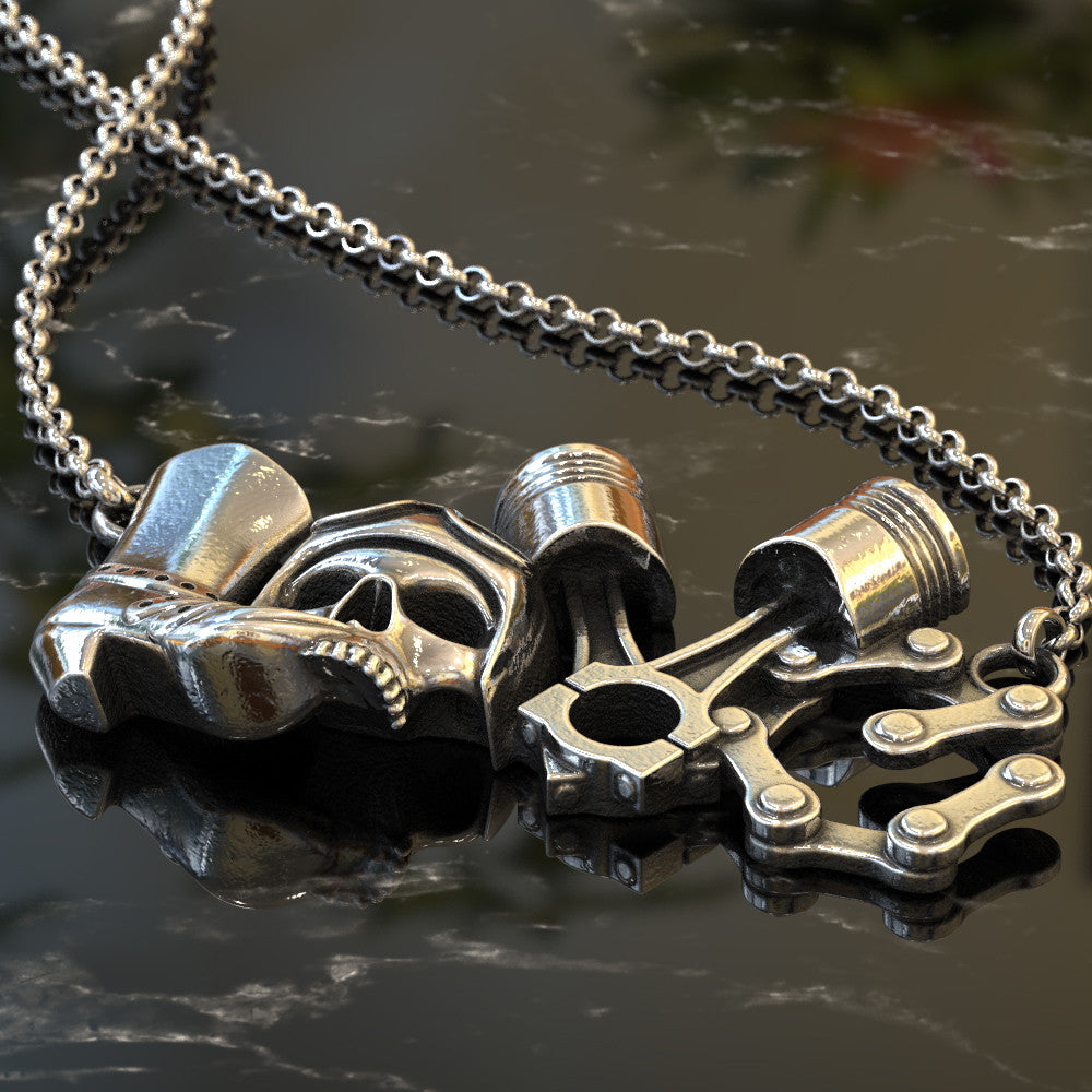 Biker LOVE Limited Edition Pendant