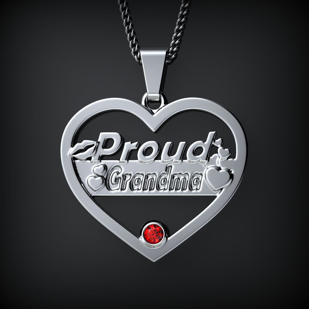 Proud GRANDMA Birthstone Necklace Ends Soon!