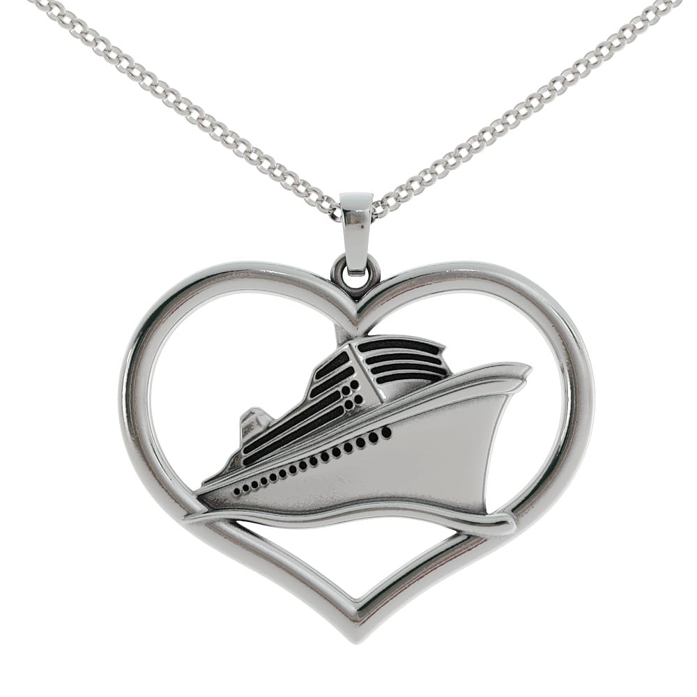 Cruise Love Large Heart Pendant