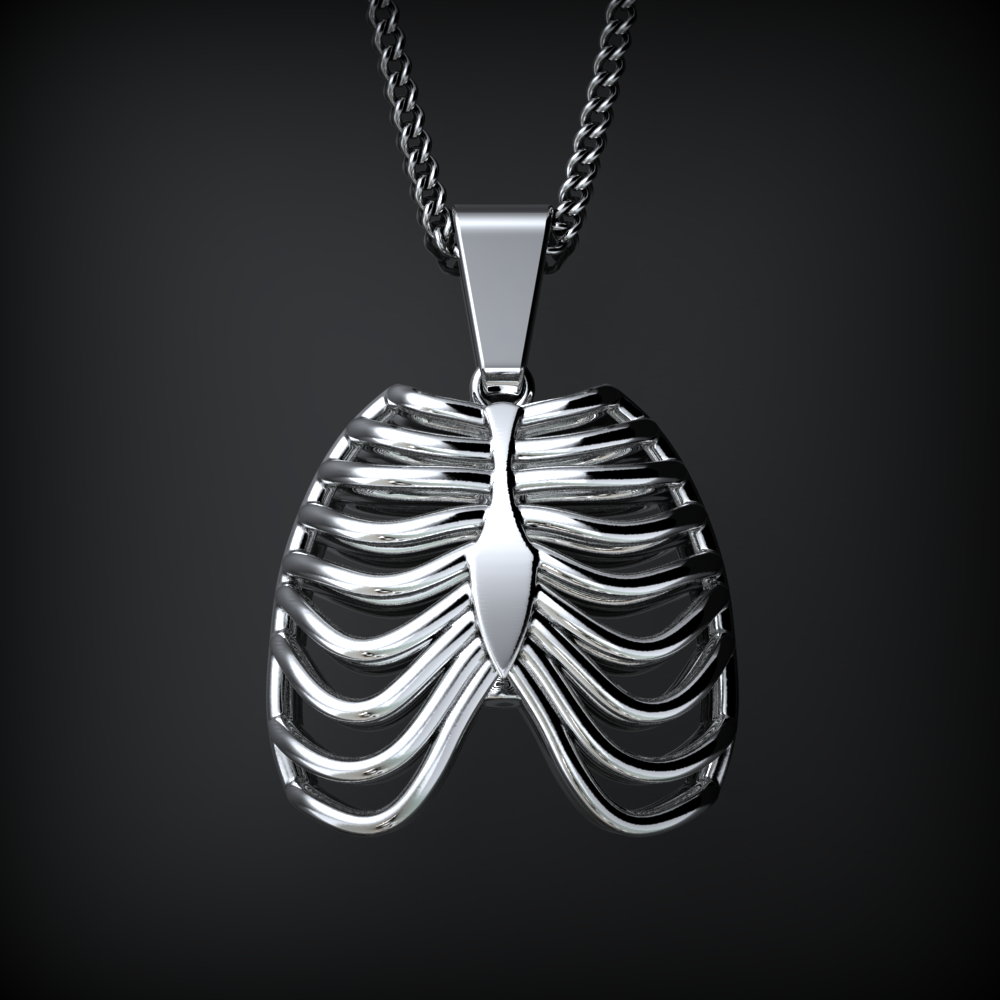 Rib Cage Necklace - LIMITED EDITION