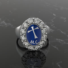 Women's 5 year Goddesses of the Cross Ring
