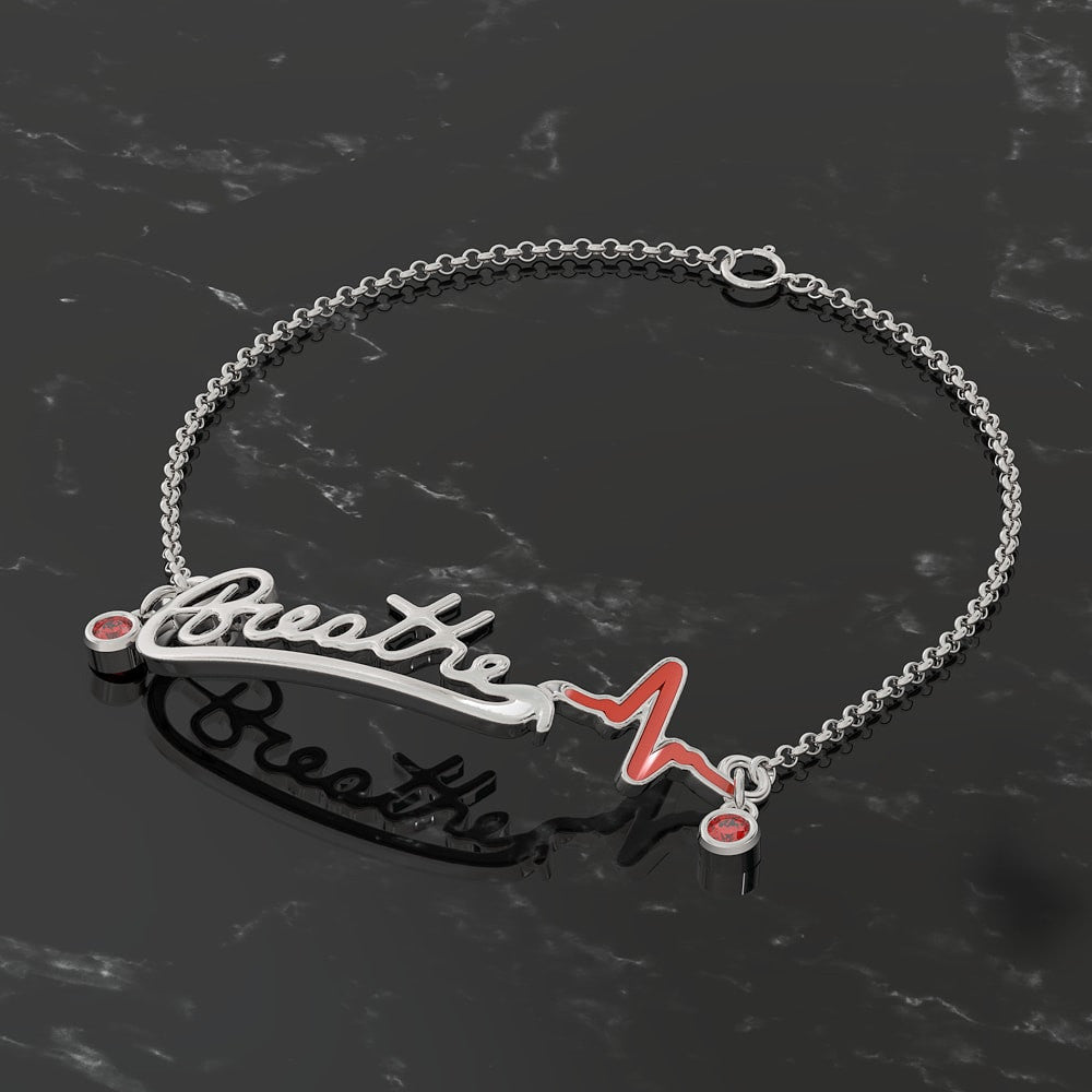 LIMITED EDITION - Breathe Chain Bracelet